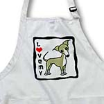 click on I Love My Italian Greyhound Fawn Tan to enlarge!