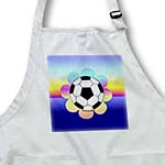 click on Soccer Ball Flower on Rainbow to enlarge!