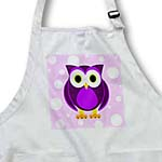 click on Cute Purple Owl on Light Purple Background to enlarge!