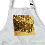 click on Late 1800s Horse Drawn Hook and Ladder Fire Company to enlarge!