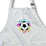 click on Soccer Ball Flower to enlarge!