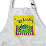 click on 100th Birthday Colorful Cake and Candles to enlarge!