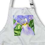 click on Purple Iris Flower to enlarge!