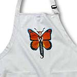 click on butterfly Monarch Monarch butterfly human butterfly orange wings whimsical pastels to enlarge!
