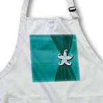 click on Aqua Satin Ribbon with Starfish to enlarge!