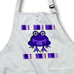 click on Cute Happy Purple Frog with Stripes to enlarge!