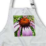 click on Purple Coneflower with Bees to enlarge!