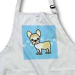 click on Cute Cream French Bulldog Red with Pawprints to enlarge!