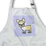 click on Cute Cream French Bulldog Blue with Pawprints to enlarge!