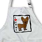 click on I Love My French Bulldog Chocolate Brown  to enlarge!