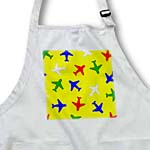 click on Cute Plane Print Primary Colors Yellow Background to enlarge!