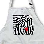 click on Cupid Heart with Wings Zebra Print to enlarge!