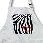 click on Heart Zebra Print to enlarge!