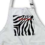 click on I Love You Romantic Zebra Print to enlarge!