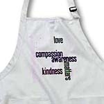click on Love Compassion Kindness Matters Pink to enlarge!