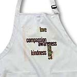 click on Love Compassion Kindness Matters Peach to enlarge!