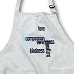 click on Love Compassion Kindness Matters Aqua to enlarge!