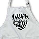 click on Christmas Tree Heart Zebra Print to enlarge!