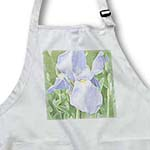 click on Lavender Iris Flowers Floral Art to enlarge!