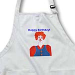 click on Happy Birthday Smiling Clown to enlarge!