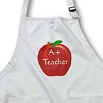 click on Painted Red Apple A Plus Teacher to enlarge!