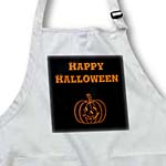 click on Happy Halloween Orange and Black Pumpkin to enlarge!