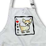 click on I Love Cream Tan Longhaired Chihuahua to enlarge!