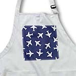 click on Cute Plane Print Navy Blue and White to enlarge!