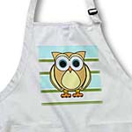 click on Cute Owl Blue Green Stripe to enlarge!