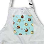 click on Cute Brown Owl and Dot Print Blue to enlarge!