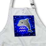 click on Cute Astrology Aquarius Zodiac Sign Dolphin to enlarge!