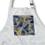 click on Blue Beige Retro Geometric to enlarge!