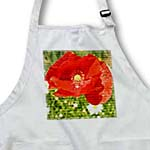 click on Red Poppy Flower Wood Design Flowers to enlarge!