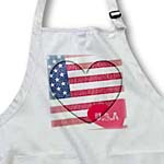 click on Heart Love USA Flag Art Patriotic 4th of July to enlarge!