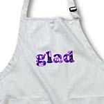 click on Word Glad in Purple Flowers to enlarge!