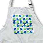click on Cute Snail Print Blue and Green to enlarge!