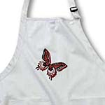 click on Hues of Red Butterfly Art Nature Designs to enlarge!