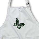click on Hues of Green Butterfly Art Nature Designs to enlarge!