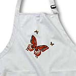 click on Peach Butterfly Trio Art Nature Designs to enlarge!