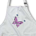 click on Pink and Blue Butterfly Trio Art Nature Designs to enlarge!