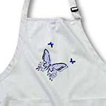 click on Lavender and Purple Butterfly Trio Art Nature Designs to enlarge!