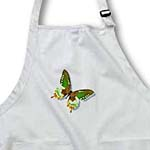 click on Green and Brown Butterfly Art Nature Designs to enlarge!
