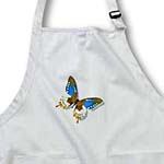 click on Blue Orange and Brown Butterfly Art Nature Designs to enlarge!