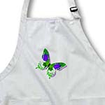 click on Green and Purple Butterfly Art Nature Designs to enlarge!