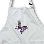 click on Purple and Green Butterfly Art Nature Designs to enlarge!