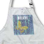 click on Blue Tie Dye Gold Butterfly Believe Art Nature Design to enlarge!