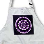 click on Lavender and royal purple fantasy mandala flower on dark purple background to enlarge!