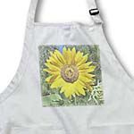 click on Sunny Yellow Sunflower Floral Art Flowers Designs Inspired by Nature to enlarge!