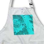 click on Turquoise Sunflower Art Flowers Designs Inspired by Nature to enlarge!