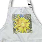 click on Sunflower with Trees Art Flowers Designs Inspired by Nature to enlarge!